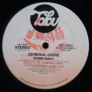 Single Cover General Caine - Bomb Body