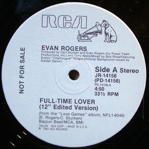 Single Cover Evan - Full Time Lover Rogers