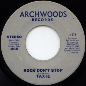 Single Cover Taxie - Rock Don't Stop