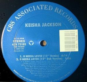 Single Cover Keisha - U Needa Lover Jackson