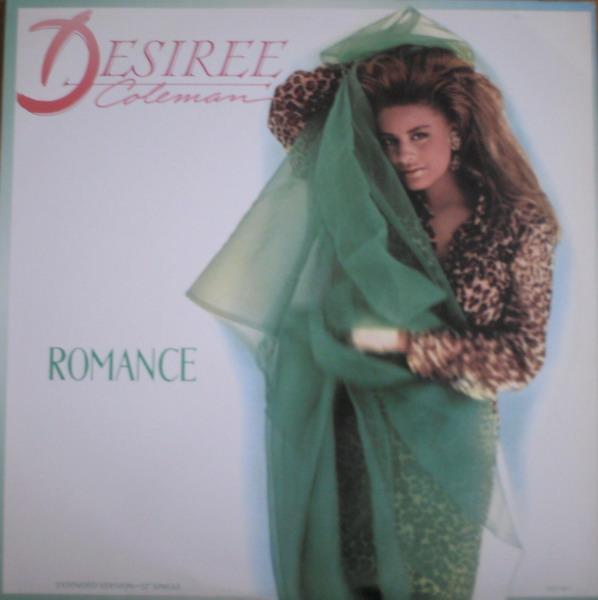 Single Cover Desiree - Romance Coleman
