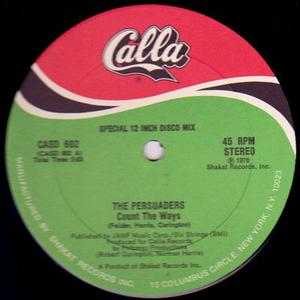Single Cover The - Count The Ways Persuaders