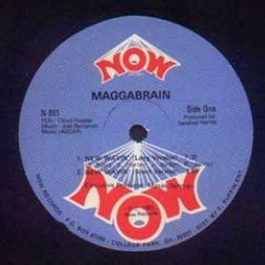 Single Cover Maggabrain - New Wavin'
