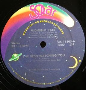 Single Cover Midnight Star - I've Been Watching You