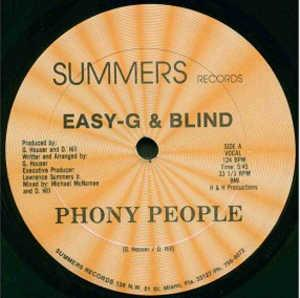 Single Cover Easy-g & Blind - Phony People