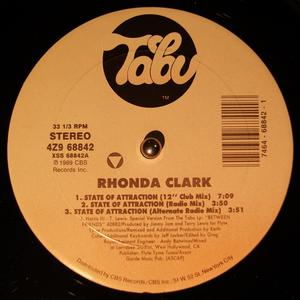 Single Cover Rhonda - State Of Attraction Clark