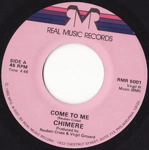 Single Cover Chimere - Come To Me