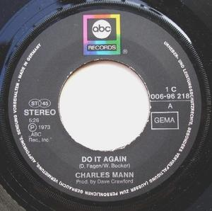Single Cover Charles - Do It Again Mann