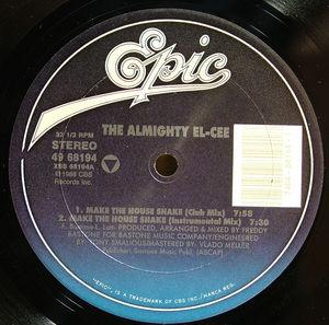 Single Cover The - Make The House Shake Almighty El-cee