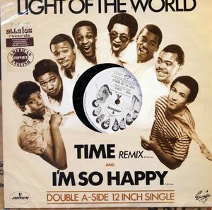 Single Cover Light Of The World - Time