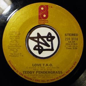 Single Cover Teddy - Love T.k.o. Pendergrass