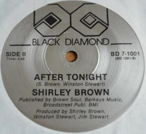 Single Cover Shirley - If This Is Goodbye Brown