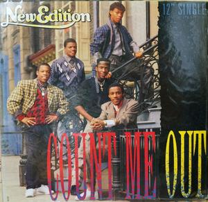 Single Cover New Edition - Count Me Out