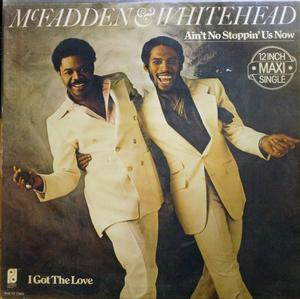 Single Cover Mcfadden And Whitehead - Ain't No Stoppin Us Now