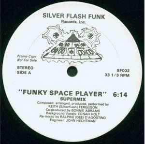 Single Cover Keith - Funky Space Player