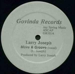 Single Cover Larry - Move & Groove Joseph