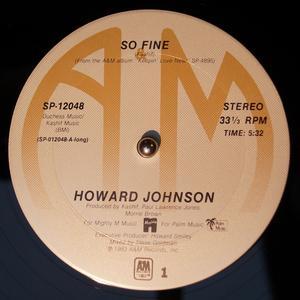 Single Cover Howard - So Fine Johnson