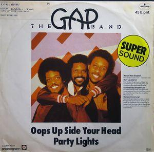 Single Cover The - Oops Up Side Your Head Gap Band