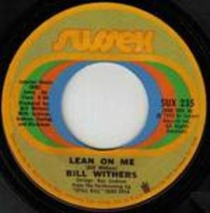 Single Cover Bill - Lean On Me Withers