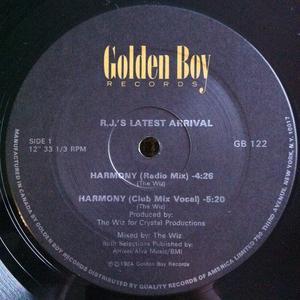Single Cover R.j.'s Latest Arrival - Harmony