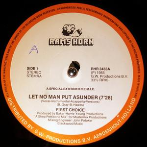 Single Cover First Choice - Let No Man Put Asunder