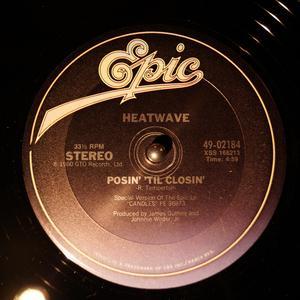 Single Cover Heatwave - Posin' 'til Closin'
