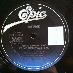 Single Cover Mtume - Prime Time