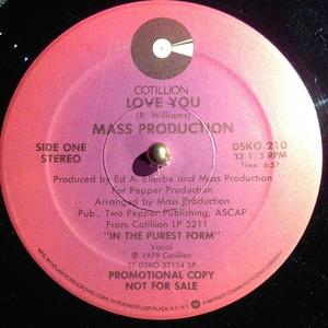 Single Cover Mass Production - Love You