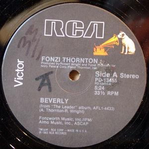 Single Cover Fonzi - Beverly Thornton
