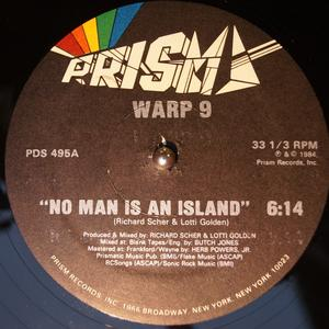 Single Cover Warp 9 - No Man Is An Island