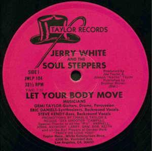 Single Cover Jerry - Let Your Body Move White And The Soul Steppers