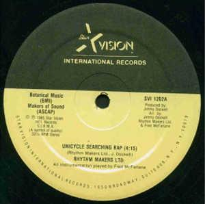 Single Cover Rhythm Makers Ltd. - Unicycle Searching Rap