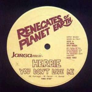 Single Cover Herbie - You Don't Love Me
