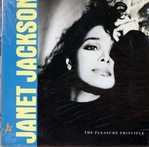 Single Cover Janet - The Pleasure Principle Jackson