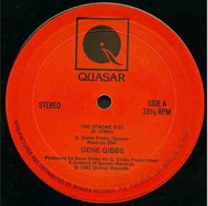Single Cover Gene - The Stroke Gibbs