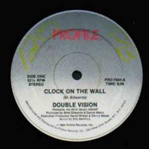 Single Cover Double Vision - Clock On The Wall