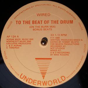 Single Cover Wired - To The Beat Of The Drum