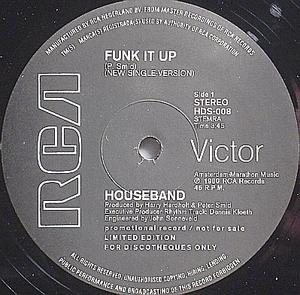 Single Cover Houseband - Funk It Up