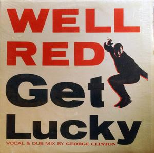 Single Cover Well Red - Get Lucky