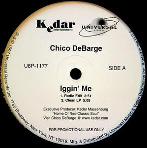 Single Cover Chico - Iggin' Me Debarge