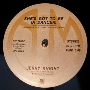 Single Cover Jerry - She's Got To Be (a Dancer) Knight