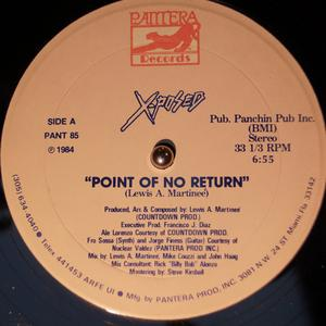 Single Cover X-posed - Point Of No Return