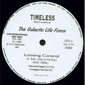 Single Cover The - Loosing Control Galactic Life Force
