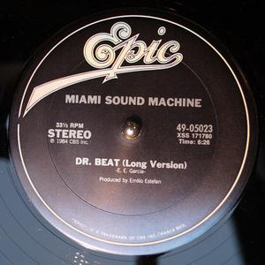 Single Cover Miami Sound Machine - Dr. Beat