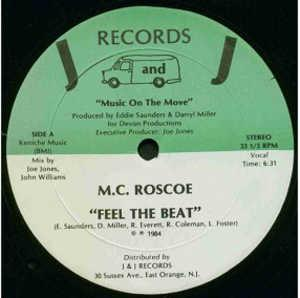 Single Cover M.c. Roscoe - Feel The Beat