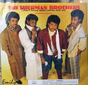 Single Cover The - I Don't Know What Comes Over Me Sherman Brothers
