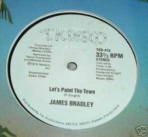 Single Cover James - Let's Paint The Town Bradley
