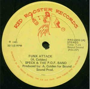 Single Cover Speck & The P.o.f. Band - Funk Attack