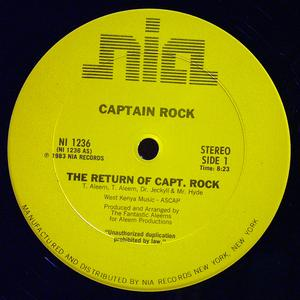 Single Cover Captain Rock - The Return Of Captain Rock