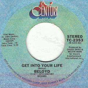 Single Cover Bernard 'beloyd' - Get Into Your Life Taylor
